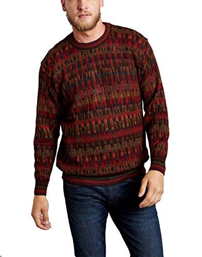 Invisible World Jersey Cuello Redondo Mosaico para Hombre