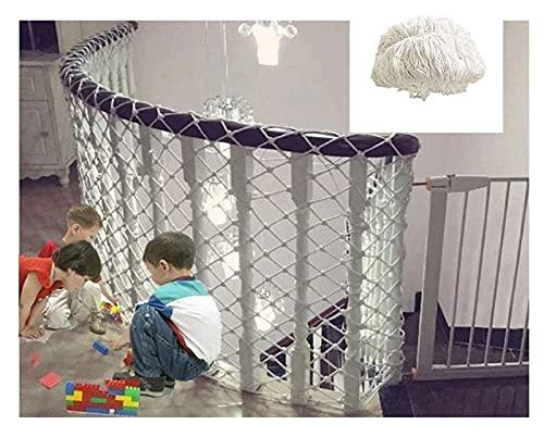 Balcony Protection Net, Red De Protección Infantil, Patios De Seguridad De Seguridad Y Escaleras De Barandilla Netificación, Red De Ferrocarril Para Niños / PET / JUGUETE, Material De Tela De Malla Ro