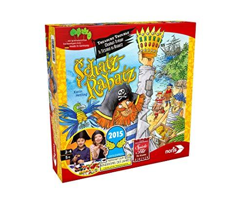 Noris 606018015 Schatz Rabatz, Kinderspiel