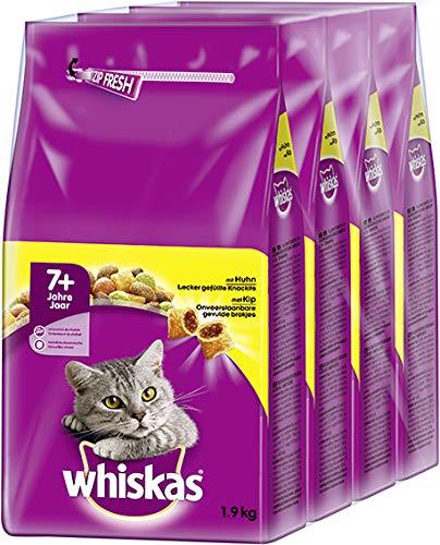whiskas Trocken 7+ mit Huhn 1,9 kg 24 X 6 BTL.