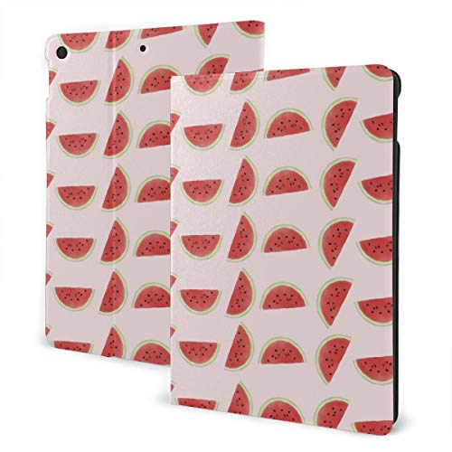 Ipad 2019 7th Generation 10.2 Inch Case, Ipad Air 3 10.5 Inch Case, Watermelon Leather Full Body Protective Covers, Adjustable Stand with Auto Wake/Sleep