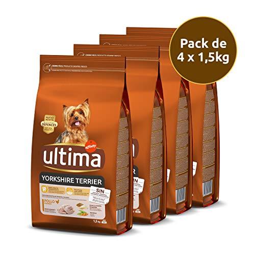 Ultima Pienso Perros Mini Yorkshire Pollo - Pack 4