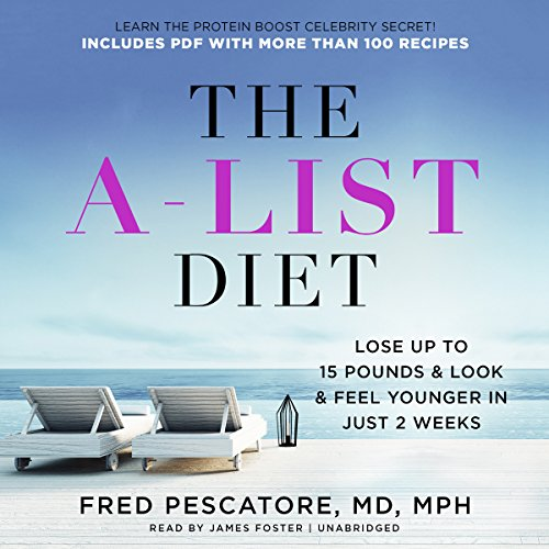 The A-List Diet audiobook cover art
