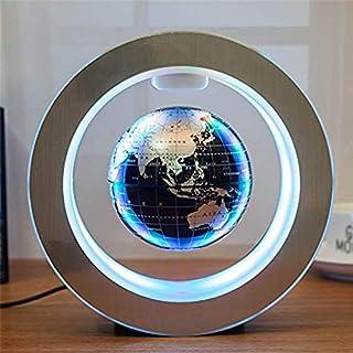 Novelty Round LED Floating Globe Magnetic Levitation Night Light Antigravity Ideas Lamp Ball for Children Kids Gifts World...