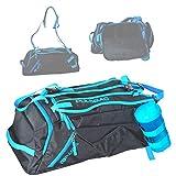 Pulsbag 3in1 Sporttasche, Innovative Reise-Rucksack-Funktion, Fächer individuell einteilbar, Damen,...