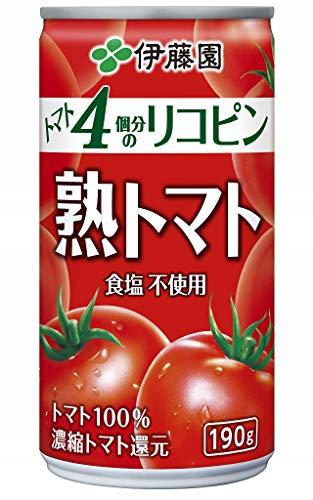 伊藤園 熟トマト190gまとめ買い(×20)
