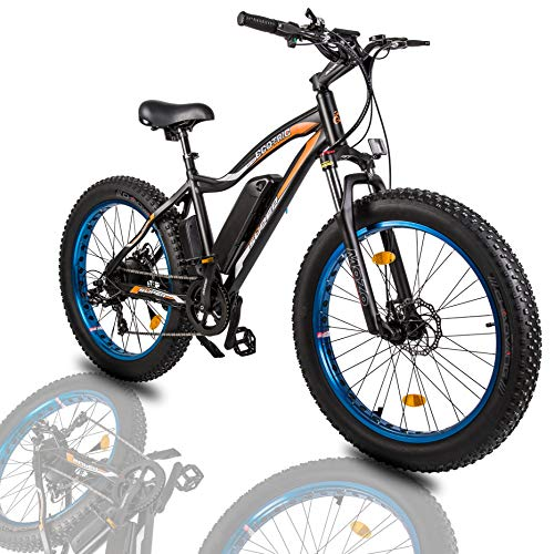"""professional ECOTRIC26 """"High-performance electric bicycle with fat tires Mountain bike 500W motor 36V / 13Ah Detachable lithium …"""