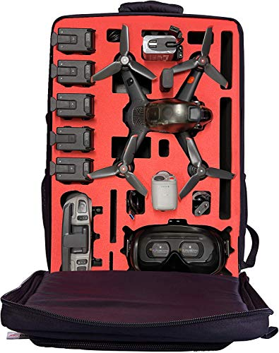 Professioneller Rucksack für DJI FPV COMBO - FLY MORE SET - MADE IN GERMANY – OUTDOOR - TRANSPORTRUCKSACK