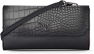Baggit Women's Wallet (Black-Red) (U 1)