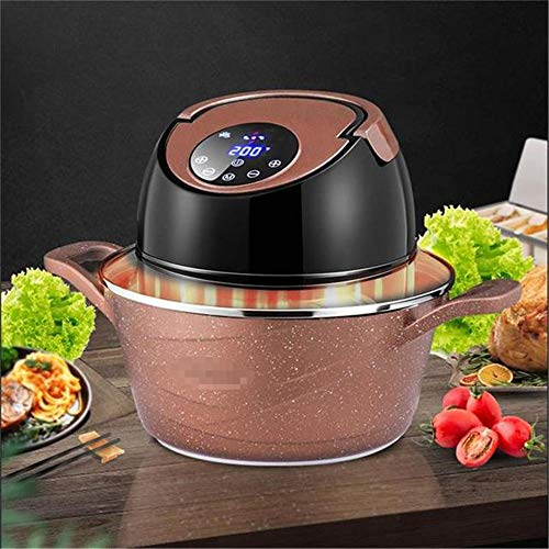 BABIFIS Intelligente lucht voor huishoudelijk gebruik Fryer met grote capaciteit zonder olie MultiPurpose elektrisch frituren Soup Pan