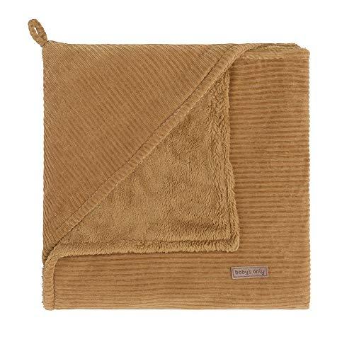 BO Baby's Only - Kapuzendecke Sense - Caramel - 75x75 cm - 80% Baumwolle/20% Polyester