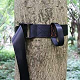 Boaton Fall Protection Tree Strap, Quick and Quiet Set Up to Tree Stand Safety Harness, Tree Stand Accessories