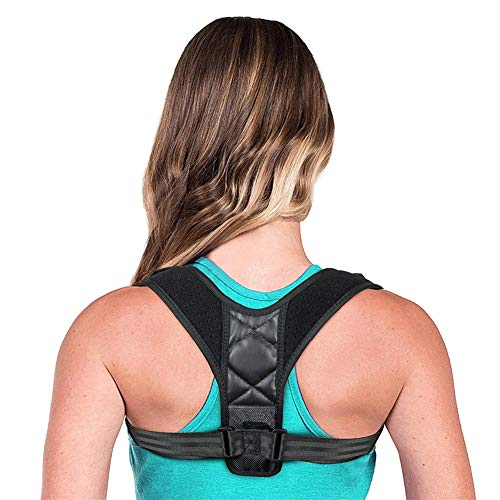ZYFWBDZ Femenino Masculino Tirantes de Postura Soporte de Espalda Soporte de Postura Soporte de corrección de Postura Ajustable Entrenador de Postura,XL