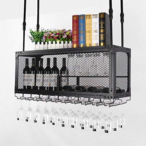 Botellero Estantería de Vino Wine Rack Soporte para Copas Wine Rack Gabinete montado en la pared del vidrio de vino colgador botellas de vino titular Bastidores de almacenamiento moderna botella de pl