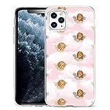 APHT Funda para teléfono Angels Cute Pattern Design Funda de Gel de Silicona Suave TPU para Apple...