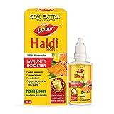 DABUR Haldi Drops- 50% Extra: Curcumin Extract for Natural Immunity Boosting & Fighting