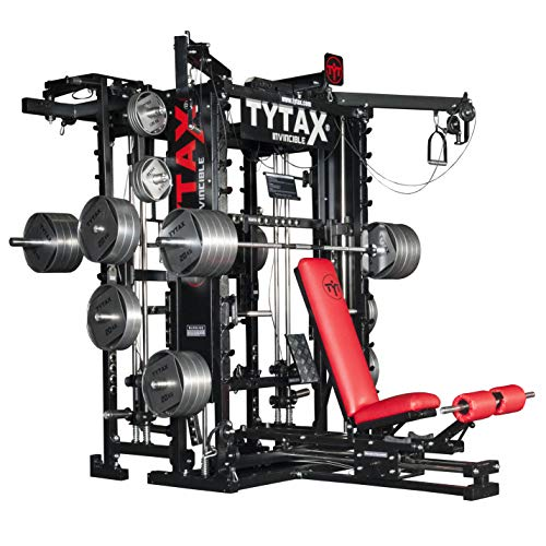 TYTAX® t1-x Ultimate Home Multi Palestra Macchina Attrezzature Fitness Best PRO Allenamento con Pesi Bench