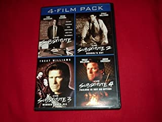 The Substitute 4-Film Pack (The Substitute / The Substitute 2: School's Out / The Substitute 3: Winner Takes All / The Substitute 4: Failure Is Not An Option) by Tom Berenger