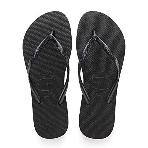 Havaianas Slim Graphic, Zapatillas de Estar por casa con talón Abierto Mujer, 2, 5 UK-37/38 BR