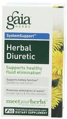 Gaia Herbs Herbal Diuretic Liquid Phyto-Capsules, 60 Count