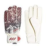 adidas Pred GL Trn Mnj Guantes de Fútbol, Unisex niños, White/Black/Active Red, 4