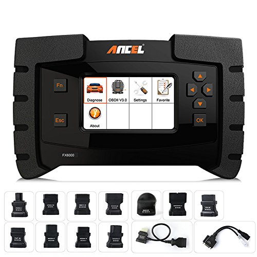 ANCEL FX6000 All System OBD2 Diagnostic Scan Tool with 11...