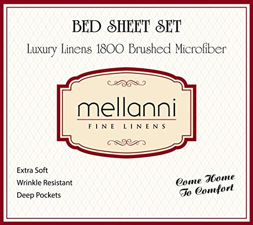 Mellanni Brushed Microfiber Sheet Set