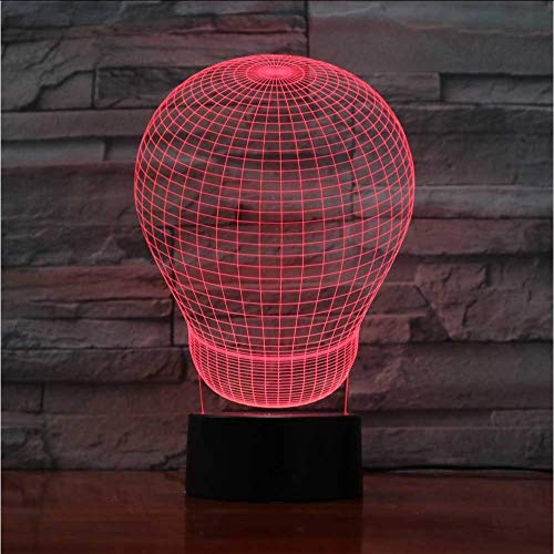 7 kleuren veranderen ballon lamp modelleren 3D bureau lamp USB nieuwigheid sfeer touch knop led nachtlampje baby slaap licht geschenken