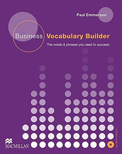 BUSINESS VOCABULARY BUILDER Pk (Business Builder)