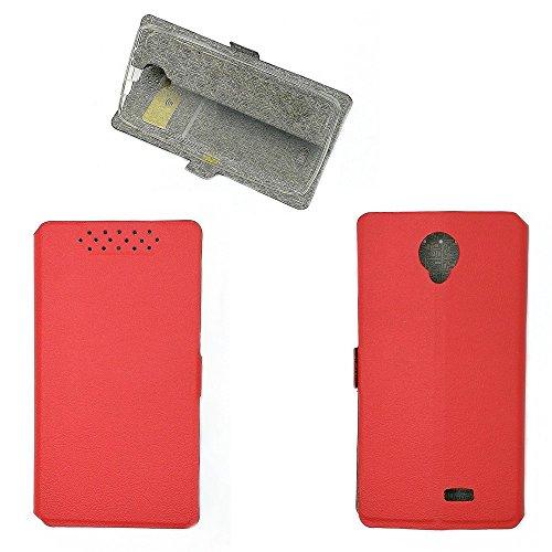 QiongniAN Hülle für Oukitel K4000 Pro hülle Schutzhülle Hülle Cover Red