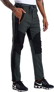 CARETOO Pantalones Trekking Hombre Pantalones de Escalada