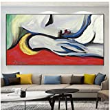 Gran famosa pintura abstracta de Picasso, carteles e impresiones de la bella durmiente, pinturas en lienzo, cuadros artísticos de pared para la decoración de la sala de estar