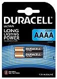 Duracell Specialty Alkaline AAAA Batterie 1,5V ((LR8D425) entwickelt für den Einsatz in Digitalstiften, medizinischen Geräten und Stirnlampen, 2er-Packung)