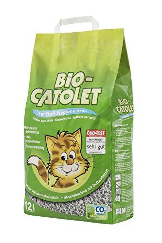 Bio Catolet Katzenstreu sanft und hygienisch, 12 l