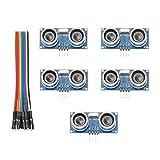 HiLetgo 5 sensores ultrasónicos HC-SR04 para Arduino UNO MEGA2560 Nano 51/STM32