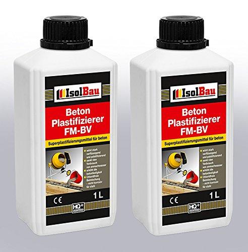 2 Liter Beton Plastifizierer Zusatzmittel Betonverflüssiger Fließmittel Betonverflüssiger FM-BV