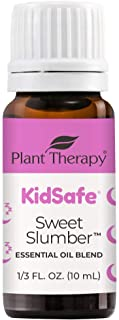Plant Therapy KidSafe Sweet Slumber Essential Oil Blend 10 mL (1/3 oz) 100% Pure, Undiluted, Therapeutic Grade