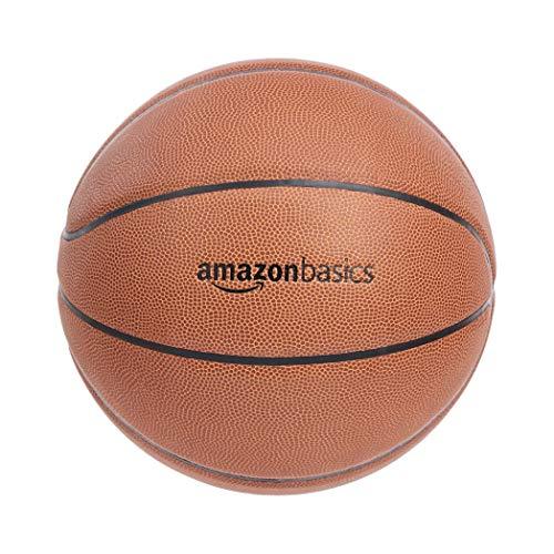 Amazon Basics - Balón de baloncesto hecho de compuesto de poliuretano, talla intermedia