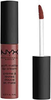 NYX PROFESSIONAL MAKEUP Soft Matte Lip Cream, High-Pigmented Cream Lipstick in Rome
