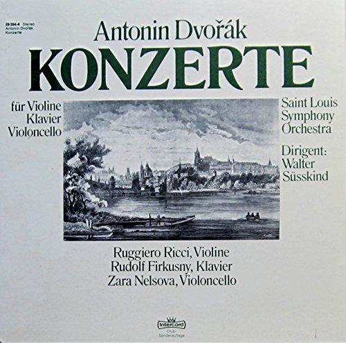 Dvorak: Konzerte (für Violine, Klavier & Violoncello) [Vinyl Schallplatte] [3 LP Box-Set]