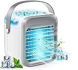 MORATER Blast Auxiliary Portable AC-Wiederaufladbare Klimaanlage Wassergekühlte -Portable USB 2000mAh - Schnelle Kühlung in Sekunden 30 Just -Mini Persönliche Klimageräte +10 Eiswürfelbeutel