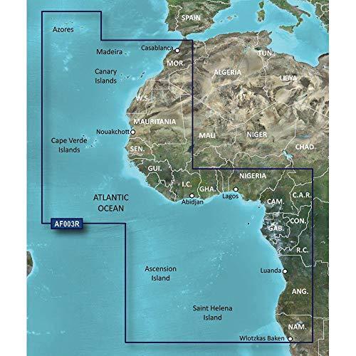 GARMIN BLUECHART G2 HXAF003R WESTERN AFRICA MICROSD & SD