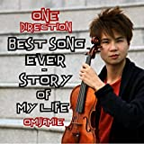 Best Song Ever/Story of My Life - One Direction (OMJamie Violin Cover)