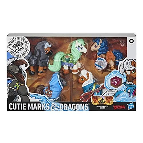Dungeons & Dragons- My Little Pony Cutie Marks and Dragons (Inglés), Color...