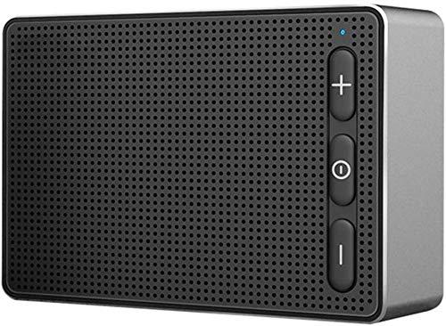 Mopoq Drahtloser Bluetooth beweglicher Lautsprecher - Mini Subwoofer-Desktop Portable Audio-Karte Computer-Musik-Player freihändiger Anruf Lautsprecher (Color : Schwarz)