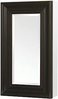 Pegasus SP4607 Deco 15-Inch Framed Medicine Cabinet, Oil Rubbed Bronze