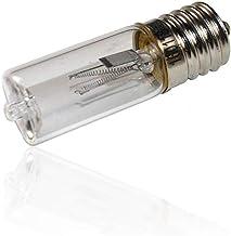E17 UV Bulb 3W, UV Bulb 11V E17 UV Ozone sterilizing Lamp Replacement for Sanitizer, E17 UV Germicidal Bulb