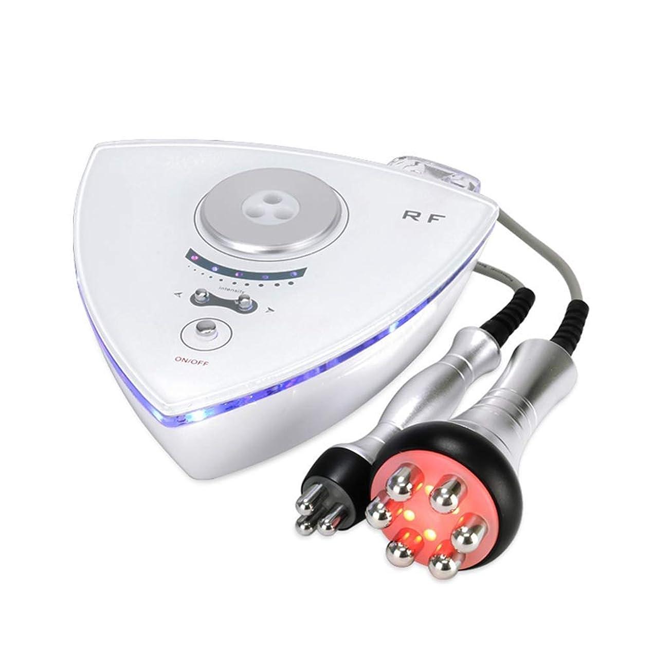 の前でスペクトラムロマンスフェイスリフティングアンチリンクルマシン、ボディ痩身ボディ、RFラジオ周波数フェイシャルマシンスキンケアフェイスリフトフェイシャル美容マシン用肌の若返り除去シワホーム使用 (Edition : EUR PLUG)