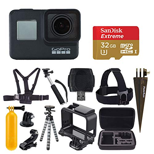 GoPro HERO7 Black Digital Action Camera with 4K HD...