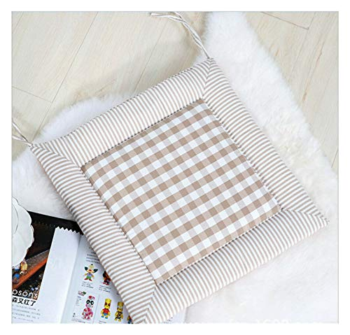 Seat Cushion Thickened Cushions Are Used For Restaurant Chairs Kitchen Office Soft Terrace (Color : C)